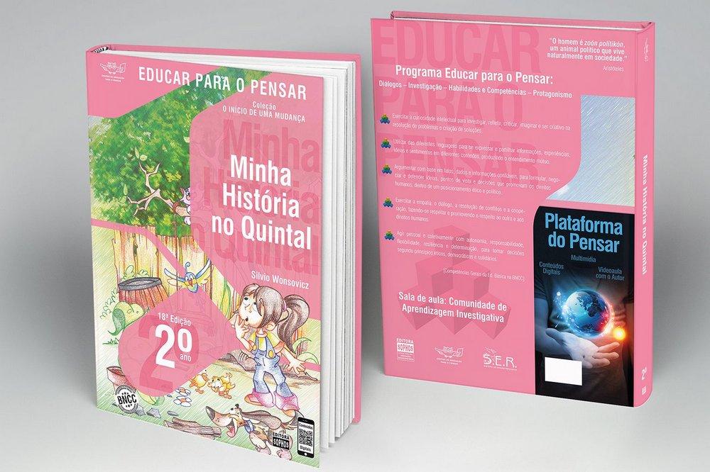 2º ANO - Minha História no Quintal - 18ª Edição  - Book Distribuidora de Livros