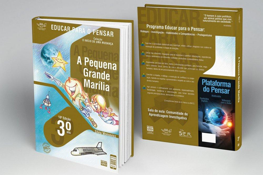 3º ANO - A Pequena Grande Marília - 18ª Edição  - Book Distribuidora de Livros