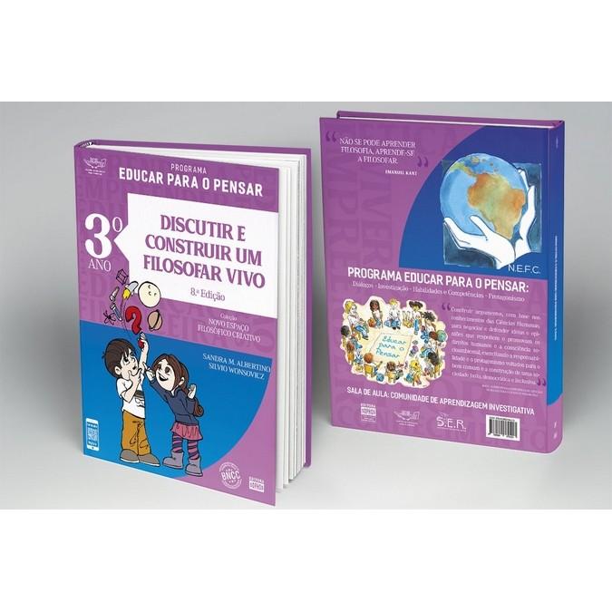 3º ANO - Discutir e Construir um Filosofar Vivo - 8ª Ed.  - Book Distribuidora de Livros