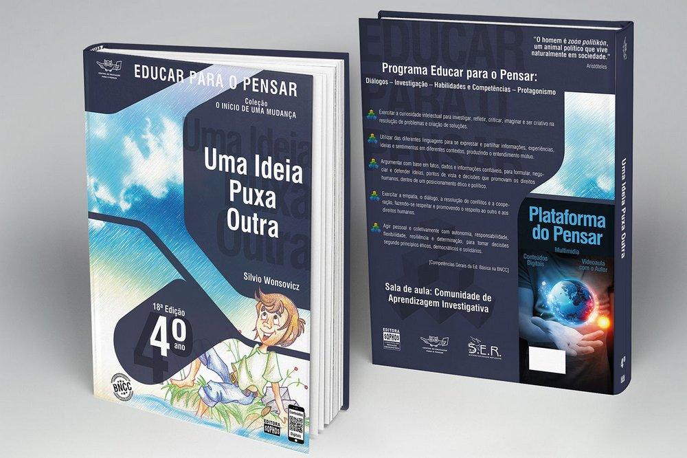 4º ANO - Uma Ideia Puxa a Outra... - 18ª Edição  - Book Distribuidora de Livros