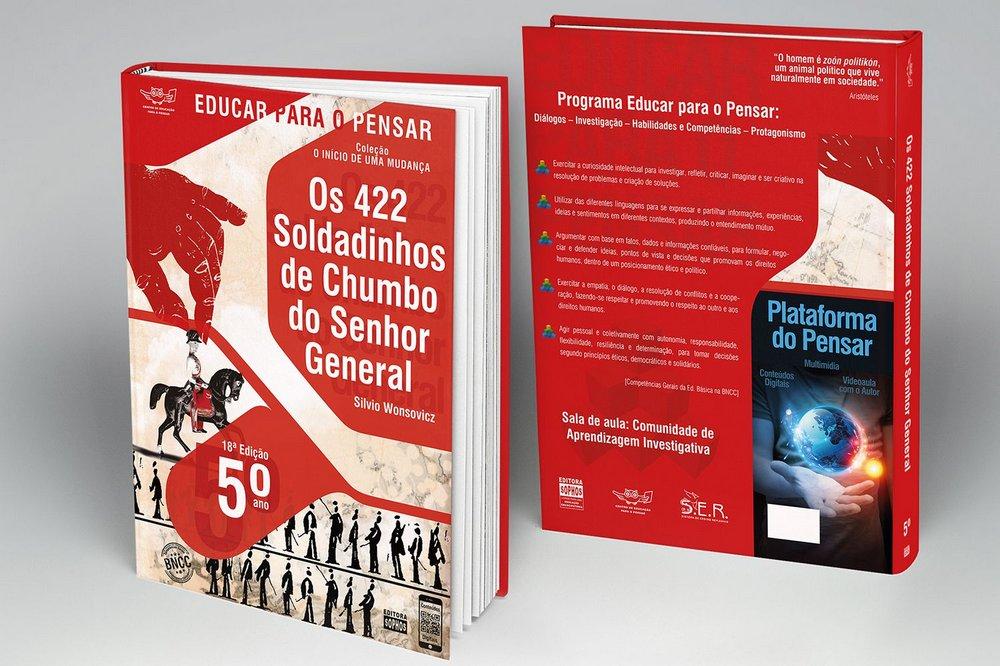 5º ANO - Os 422 Soldadinhos de Chumbo do Senhor General - 18ª Edição  - Book Distribuidora de Livros