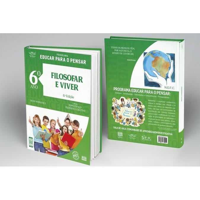 6º ANO - Filosofar e Viver - 8ª Ed.  - Book Distribuidora de Livros
