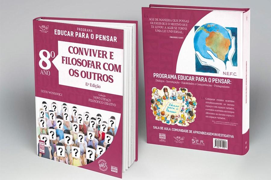 8º ANO - Conviver e Filosofar com os Outros - 8ª Ed.  - Book Distribuidora de Livros