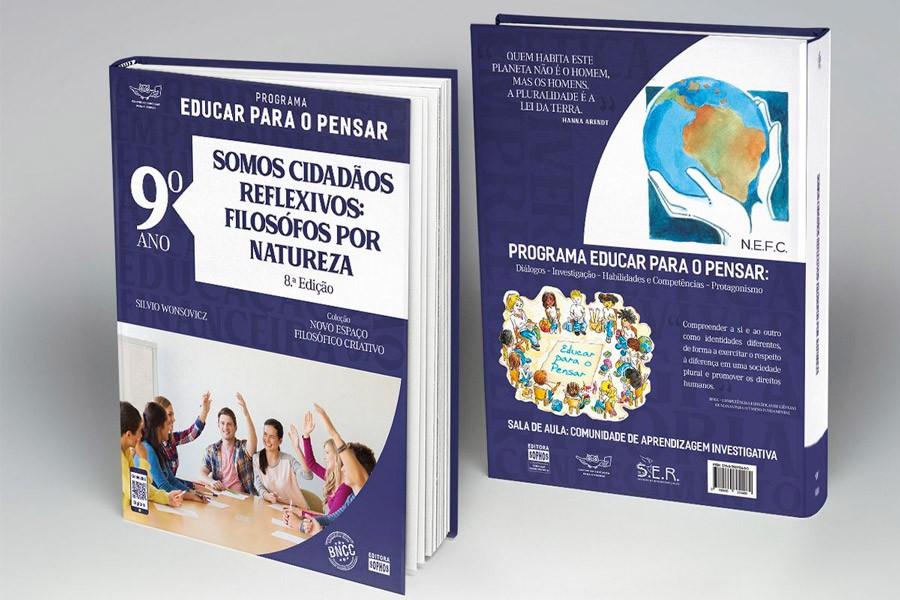 9º ANO - Somos Cidadãos Reflexivos: Filósofos por Natureza - 8ª Ed.  - Book Distribuidora de Livros