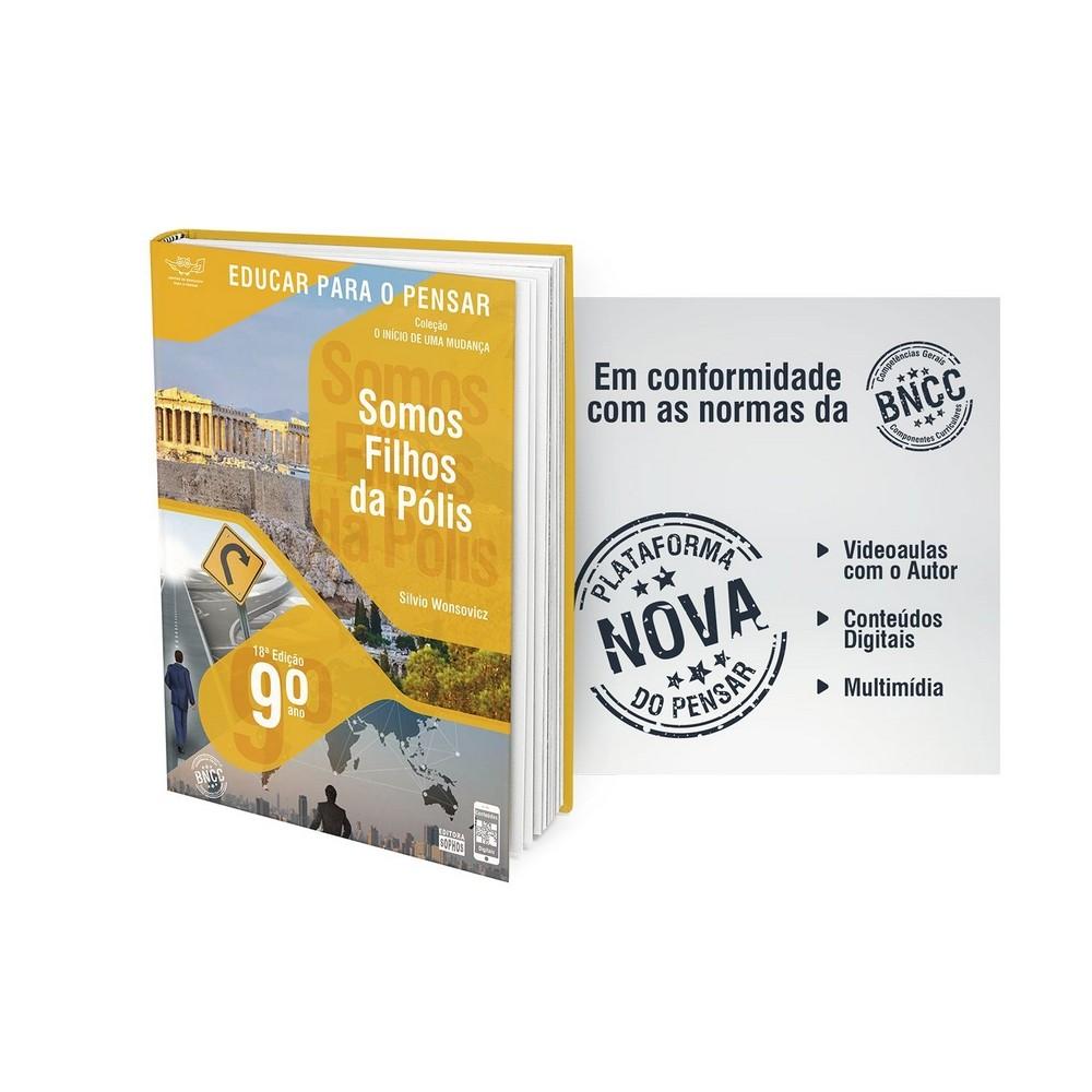 9º ano - Somos Filhos da Pólis - 18ª Edição  - Book Distribuidora de Livros