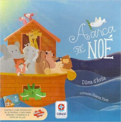 A arca de Noé Capa comum  - Book Distribuidora de Livros