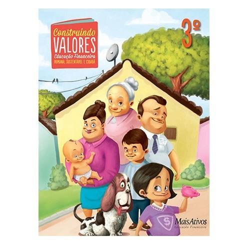 CONSTRUINDO VALORES, 3º  - Book Distribuidora de Livros