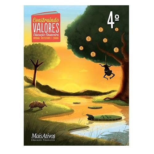 CONSTRUINDO VALORES, 4º  - Book Distribuidora de Livros