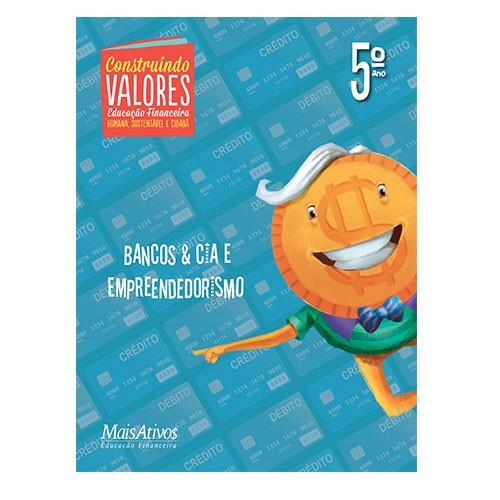 CONSTRUINDO VALORES, 5º  - Book Distribuidora de Livros