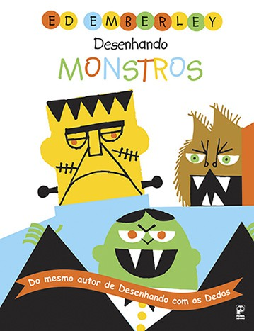 DESENHANDO MONSTROS  - Book Distribuidora de Livros