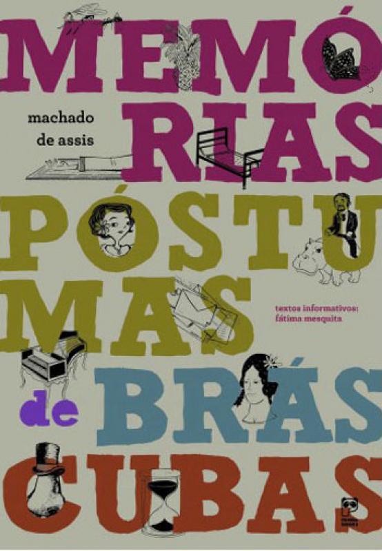 MEMORIAS PÓSTUMAS DE BRAS CUBAS  - Book Distribuidora de Livros