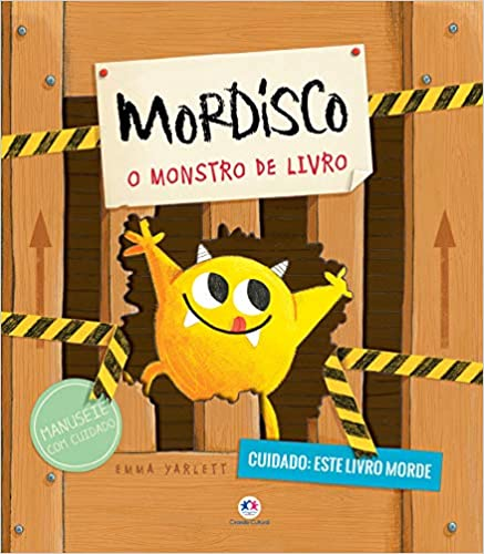 MORDISCO- O MONSTRO DE LIVRO  - Book Distribuidora de Livros