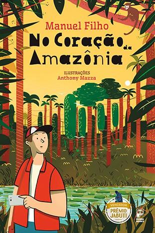 NO CORAÇÃO DA AMAZÔNIA  - Book Distribuidora de Livros