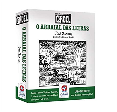 O arraial das letras: 2 Livro interativo – Conjunto de caixa  - Book Distribuidora de Livros