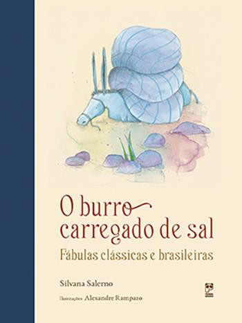 O BURRO CARREGADO DE SAL - FABULAS CLÁSSICAS E BR  - Book Distribuidora de Livros