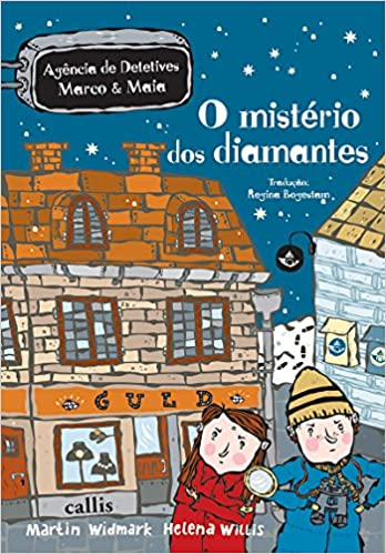O MISTÉRIO DOS DIAMANTES  - Book Distribuidora de Livros