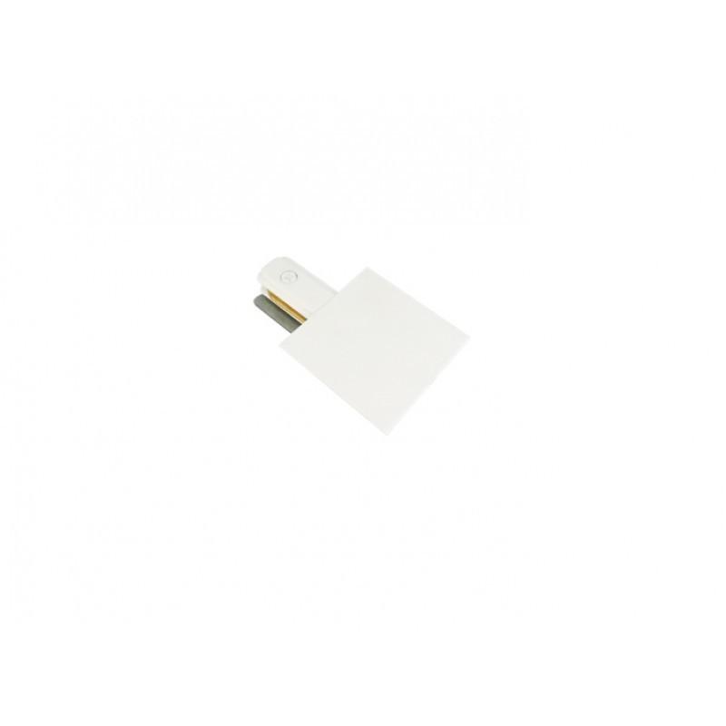 Alimentador Para Trilho de Embutir Energizado Branco SD1208BR STELLA