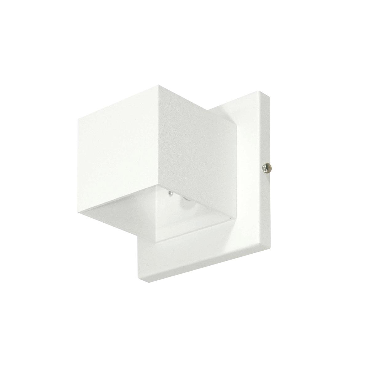 Arandela de Sobrepor 1x G9 Cubo 256i  Itamonte