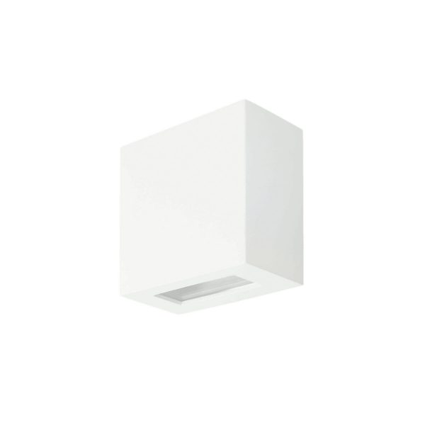 Arandela de Sobrepor C/ Vidro Transparente 2 Fachos LED 6W 3000K 220V 233/2-302VD  Itamonte