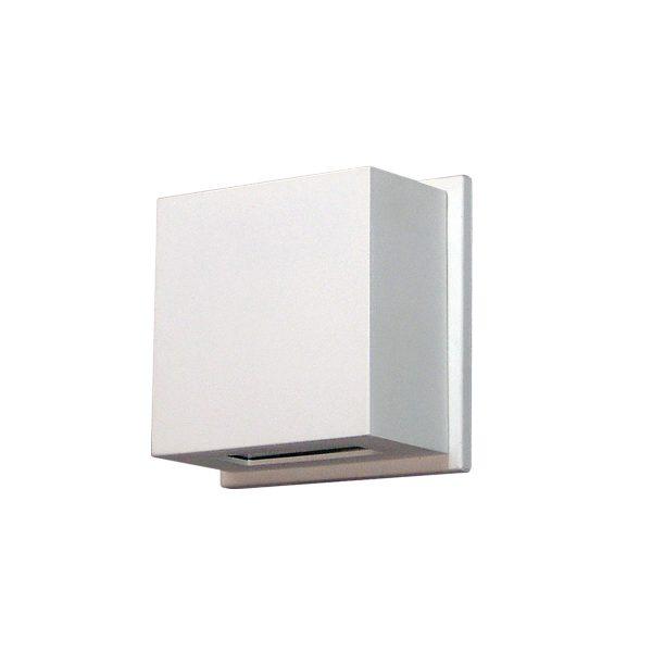 Arandela de Sobrepor C/ Vidro Transparente 2 Fachos LED 6W 3000K 220V 236/2-302VD  Itamonte