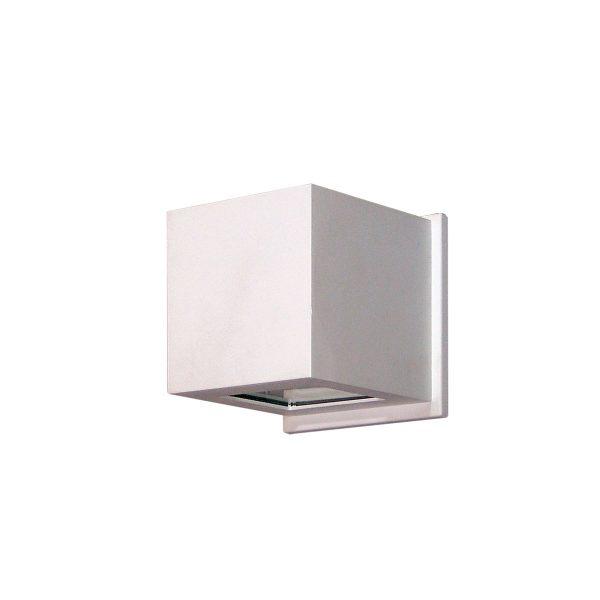 Arandela de Sobrepor C/ Vidro Transparente 2 Fachos LED 6W 3000K 220V 237/2-302VD  Itamonte