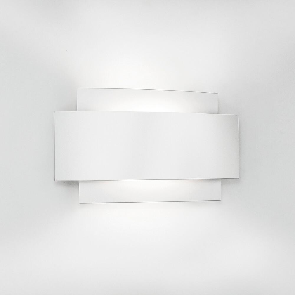 Arandela de Sobrepor Courbe C21,6cm 1 PCI LED 6W 2700K 127V 335LED1 Newline