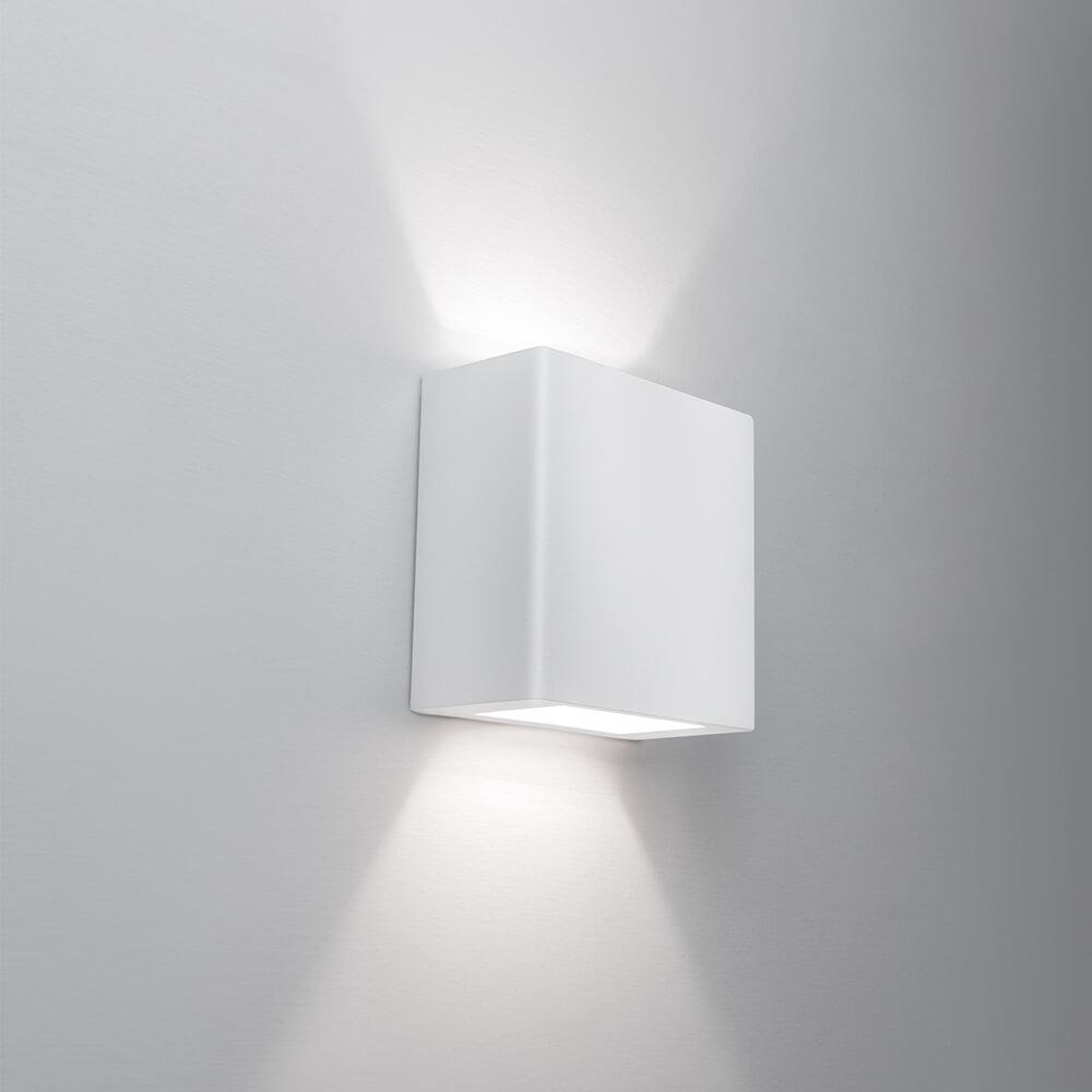 Arandela de Sobrepor New Clean 2 Fachos 2 PCI LED 6W 2700K 127V 9585LED1 Newline