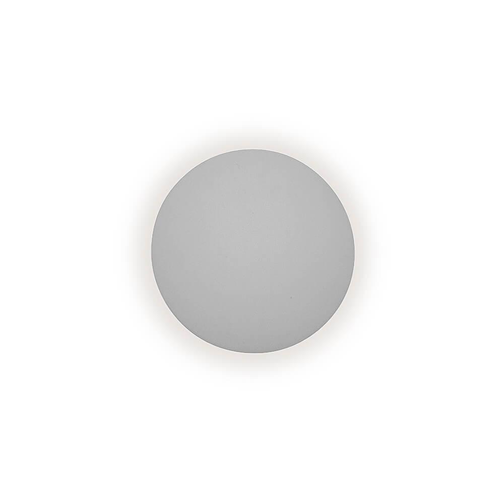 Arandela de Sobrepor Pleine Lune D26,2cm 1x E-27 em Alumínio IN40022 Newline