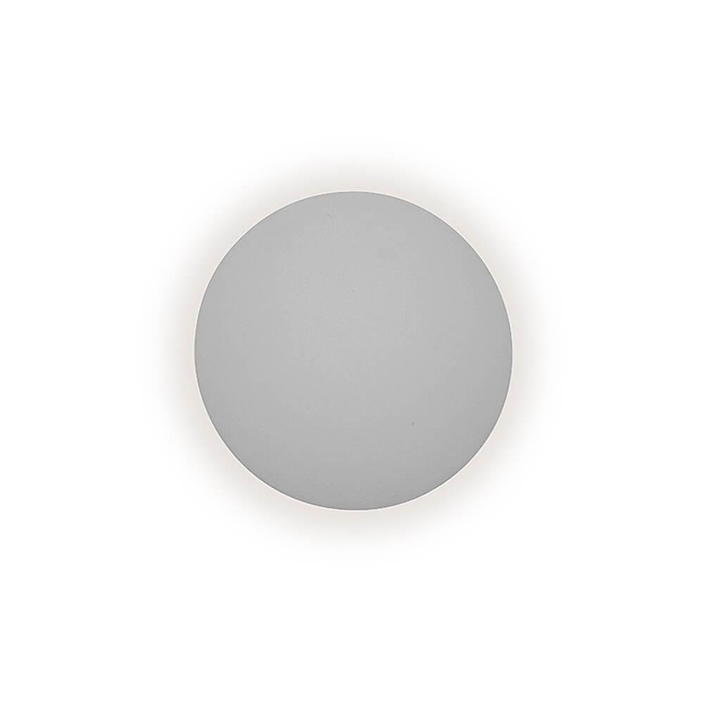 Arandela De Sobrepor Pleine Lune D26Cm 1 Pci Led 6W 2700K 127V 340Led1 Newline