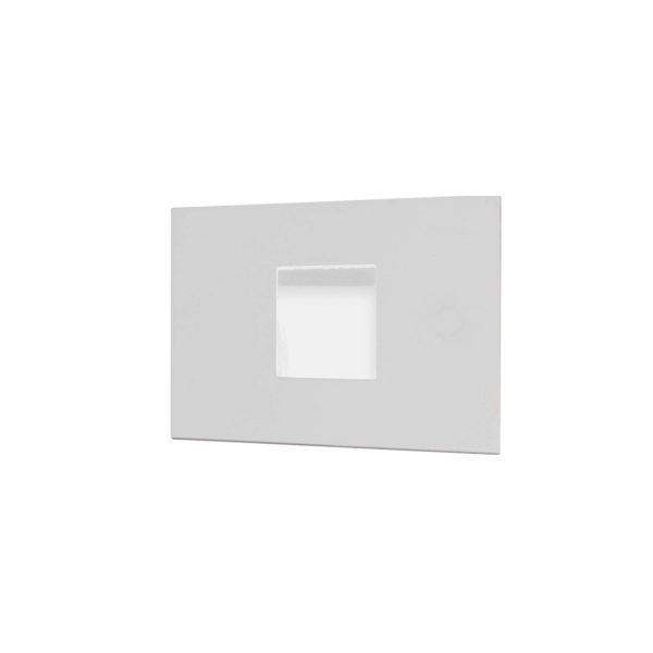 Balizador de Parede Embutir LED 6W 3000K 127V 901-301  Itamonte