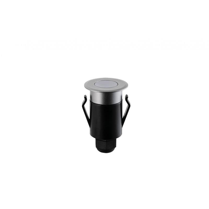 Balizador de Solo Redondo Spur LED 2W IP67 3000K Bivolt STH6720/30 Stella Design