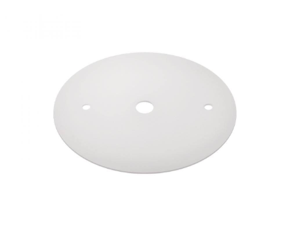 Canopla Plana Para Trilho de Sobrepor Energizado Branco SD1000BR Stella Design