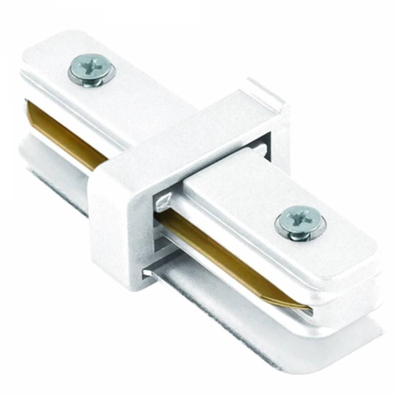 Conector I Para Trilho de Sobrepor Energizado Branco SD1043BR - Stella Design