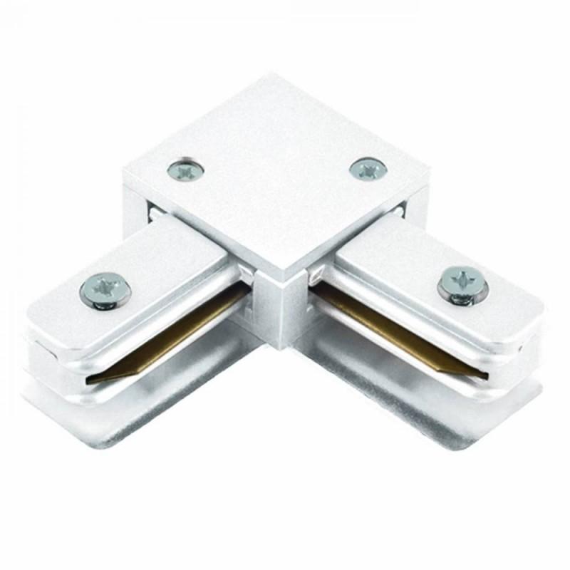 Conector L Para Trilho de Sobrepor Energizado Branco SD1044BR - Stella Design