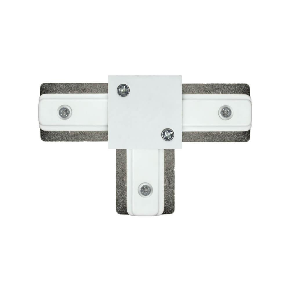 Conector T Para Trilho de Sobrepor Energizado Branco 931010  Newline