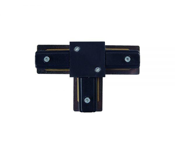 Conector T Para Trilho de Sobrepor Preto 438817  Brilia