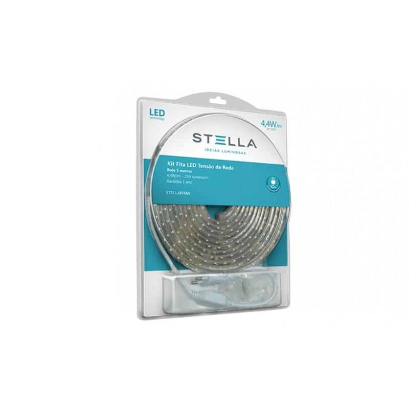 Fita de LED 10W/m 3000K 220V IP67 5mts STH7812/30 - Stella Design