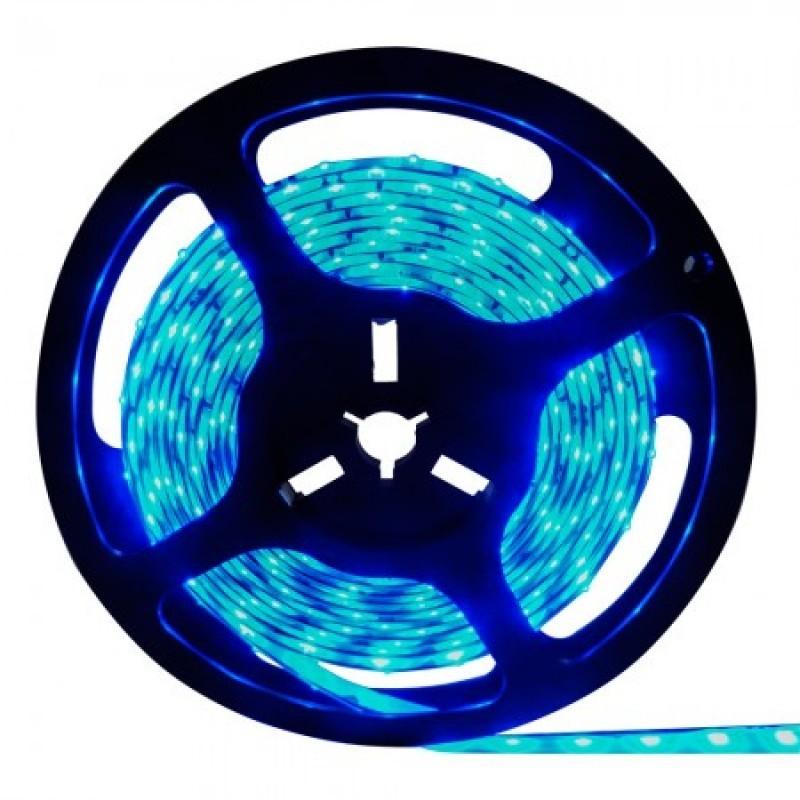 Fita de LED 6W/m Azul 12V IP20 5mts STH6800/AZ - Stella Design