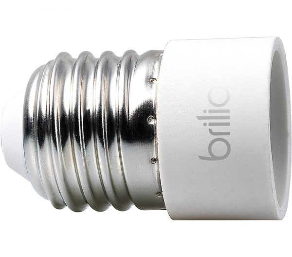 KIT Adaptador E-27 para Lâmpada E-14 431481 Brilia