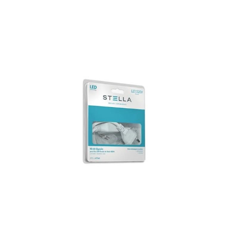 Kit De Alimentação Para Fita Led Double Line Bivolt Sth7813 Stella