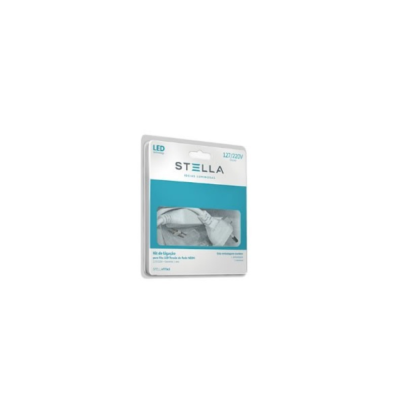 Kit De Alimentação Para Fita Led Single Line Bivolt Sth7803 Stella