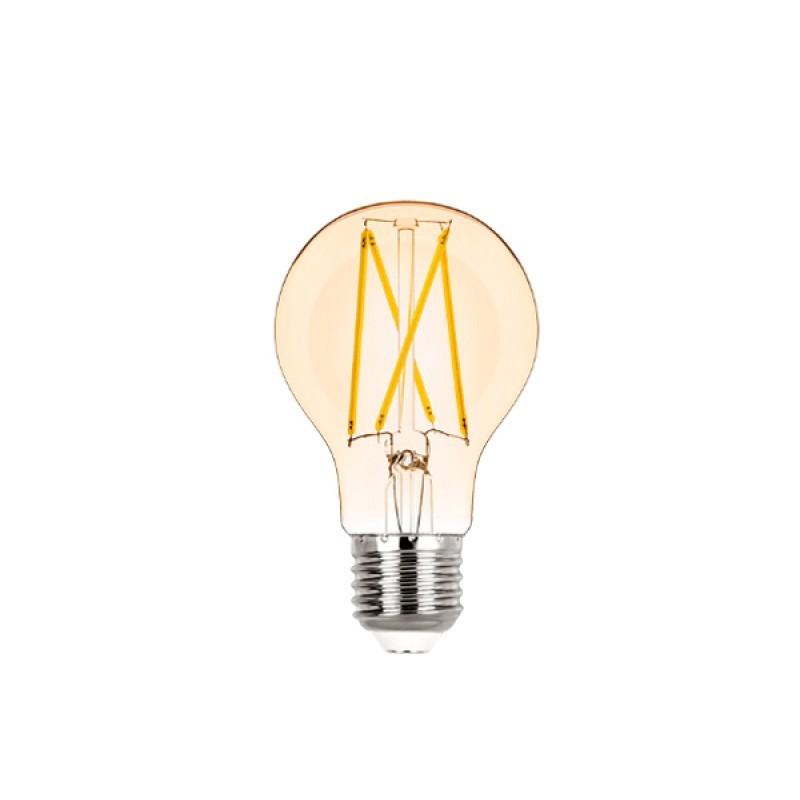 Lâmpada LED Bulbo Filamento 2W Âmbar E-27 Bivolt STH6335/24 STELLA