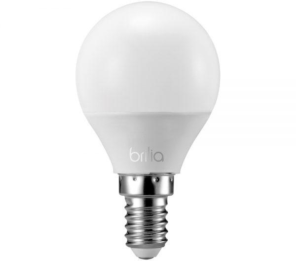 Lâmpada LED Mini Globo 3W E-14 2700K Bivolt 436011 Brilia