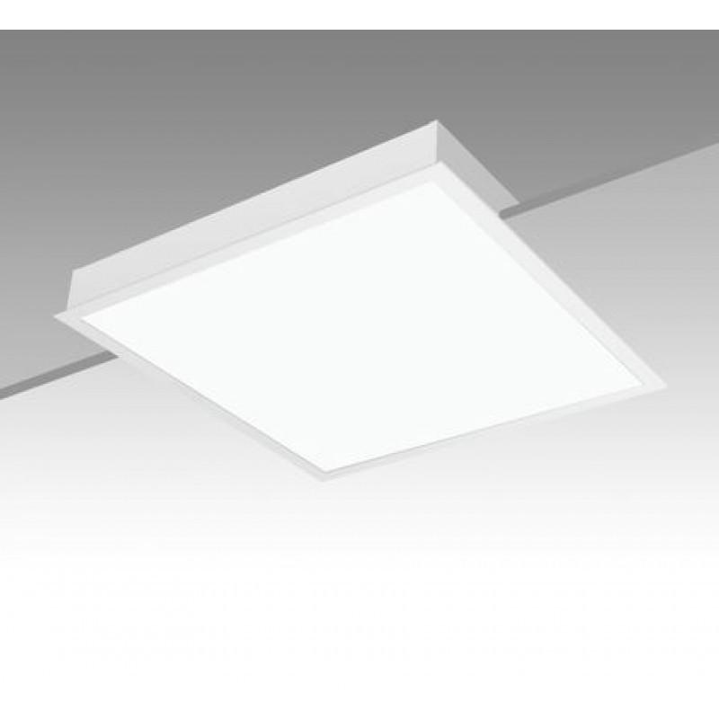 Luminária Comercial de Embutir Quadrada C/ Difusor em Acrílico 4x 16/20W CE-1101 - Roma Luz