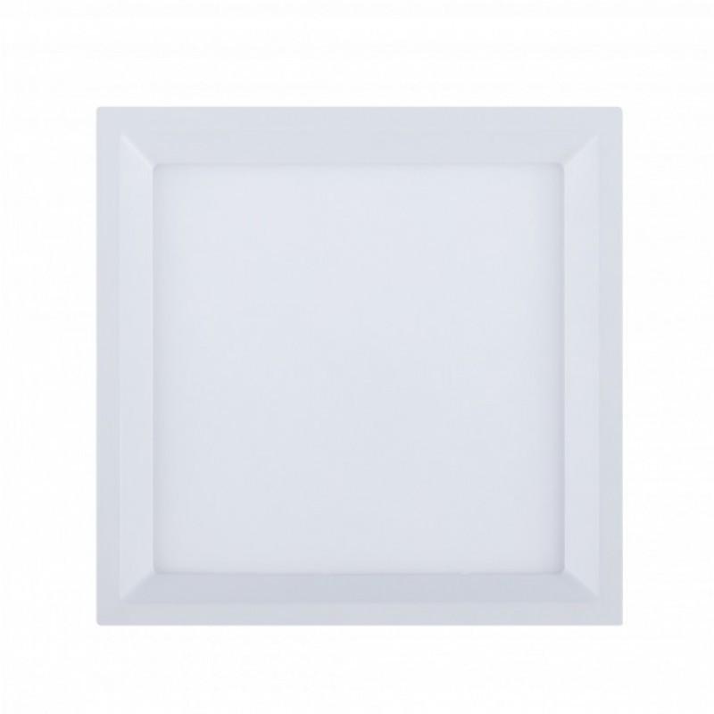 Painel de Embutir Quadrado Recuado LED 23,6x22,1Cm 22W 3000K Bivolt 305687 Brilia