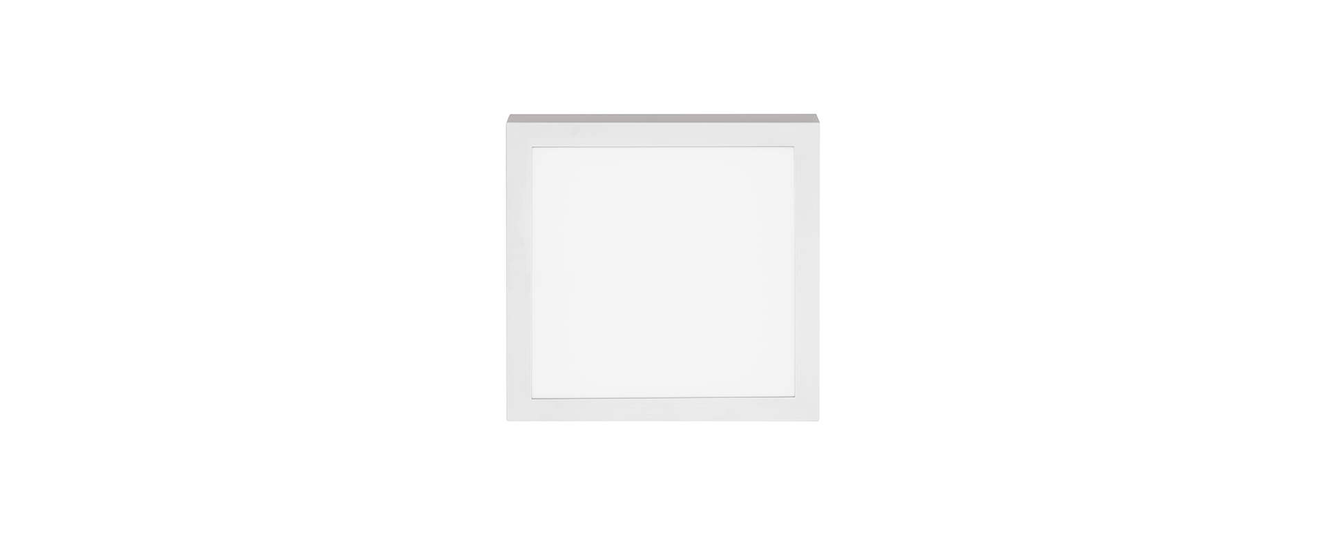 Painel de Sobrepor Quadrado LED 12W 6500K Bivolt STH8962Q/65 - Stella Design