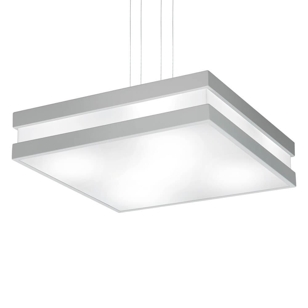 Pendente em Alumínio New Quadrus C45,4cm 6x E-27 11794  Newline