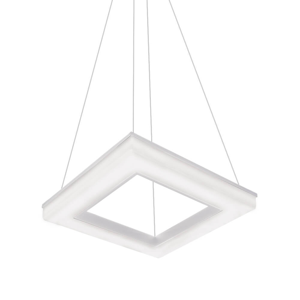 Pendente em Alumínio Pixel C47cm LED 40W 4000K Bivolt 496LED4  Newline