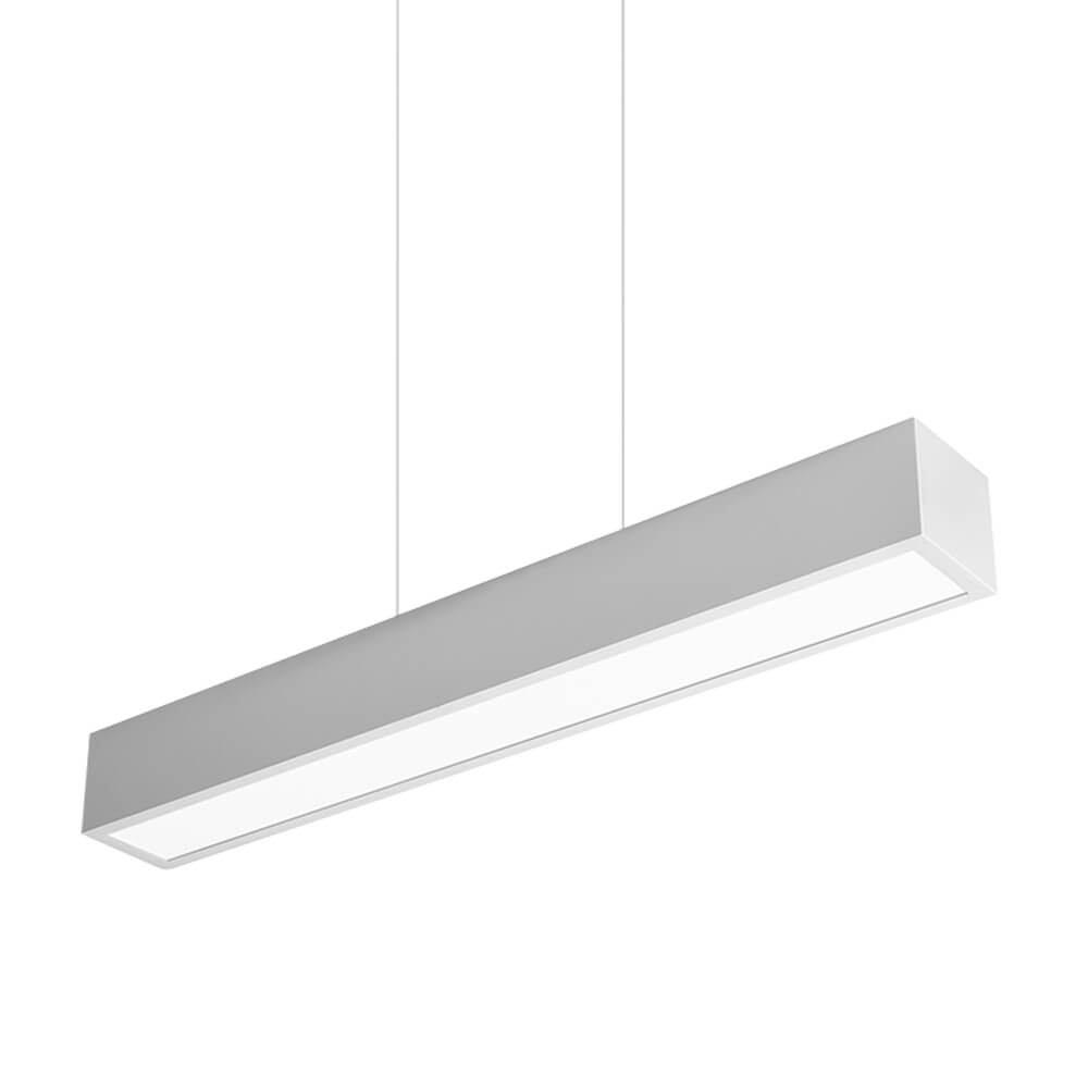 Pendente em Alumínio Sobrepor V C120cm LED 30W 3000K Bivolt 467LED3  Newline