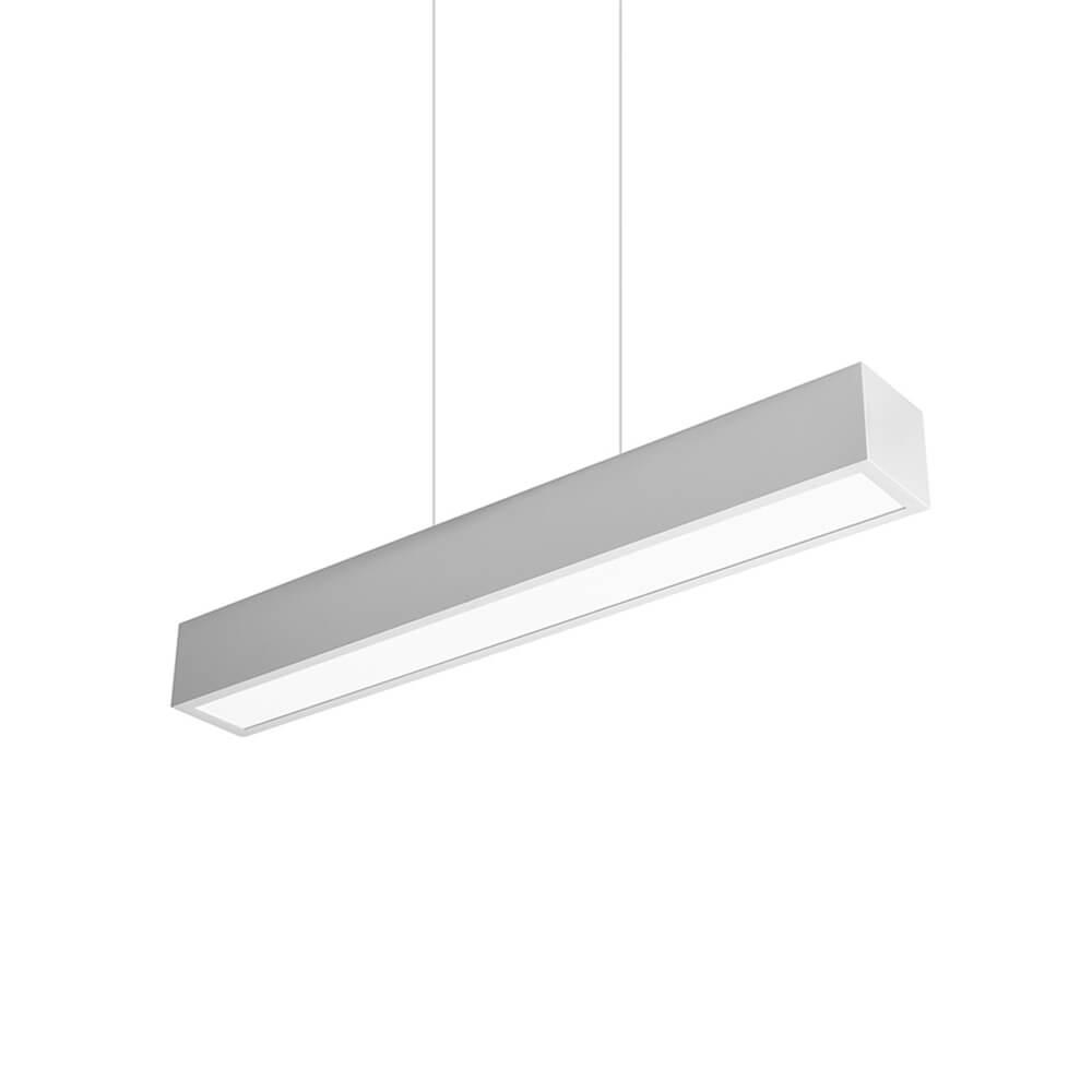 Pendente em Alumínio Up Down Light C60cm LED 50W 4000K Bivolt 466LED4  Newline